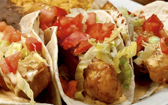 A great looking plate of fish tacos, food photography by Roselle Food photographer Controlled Color, Inc.