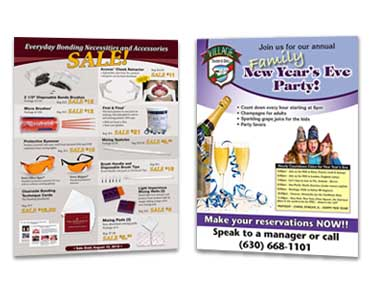 Roselle Flyer Graphic Design from Roselle Graphic Designer Controlled Color, Inc.