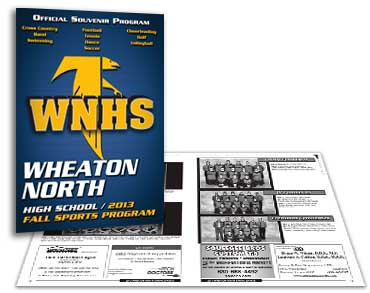 Roselle Sports Program Graphic Design from Roselle Graphic Designer Controlled Color, Inc.