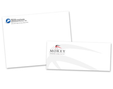 Envelope Printing - #10 Envelope printing, Catalog envelope printing, booklet envelope printing, announcement envelope printing, from Envelope Printer Controlled Color, Inc.