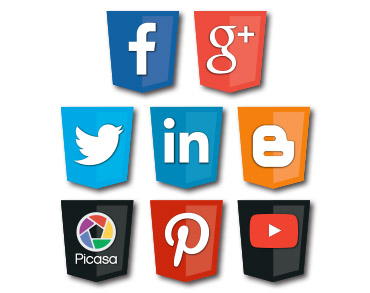 Social Media optimization, or SMO, service Icon for internet marketing company Controlled Color, Inc.