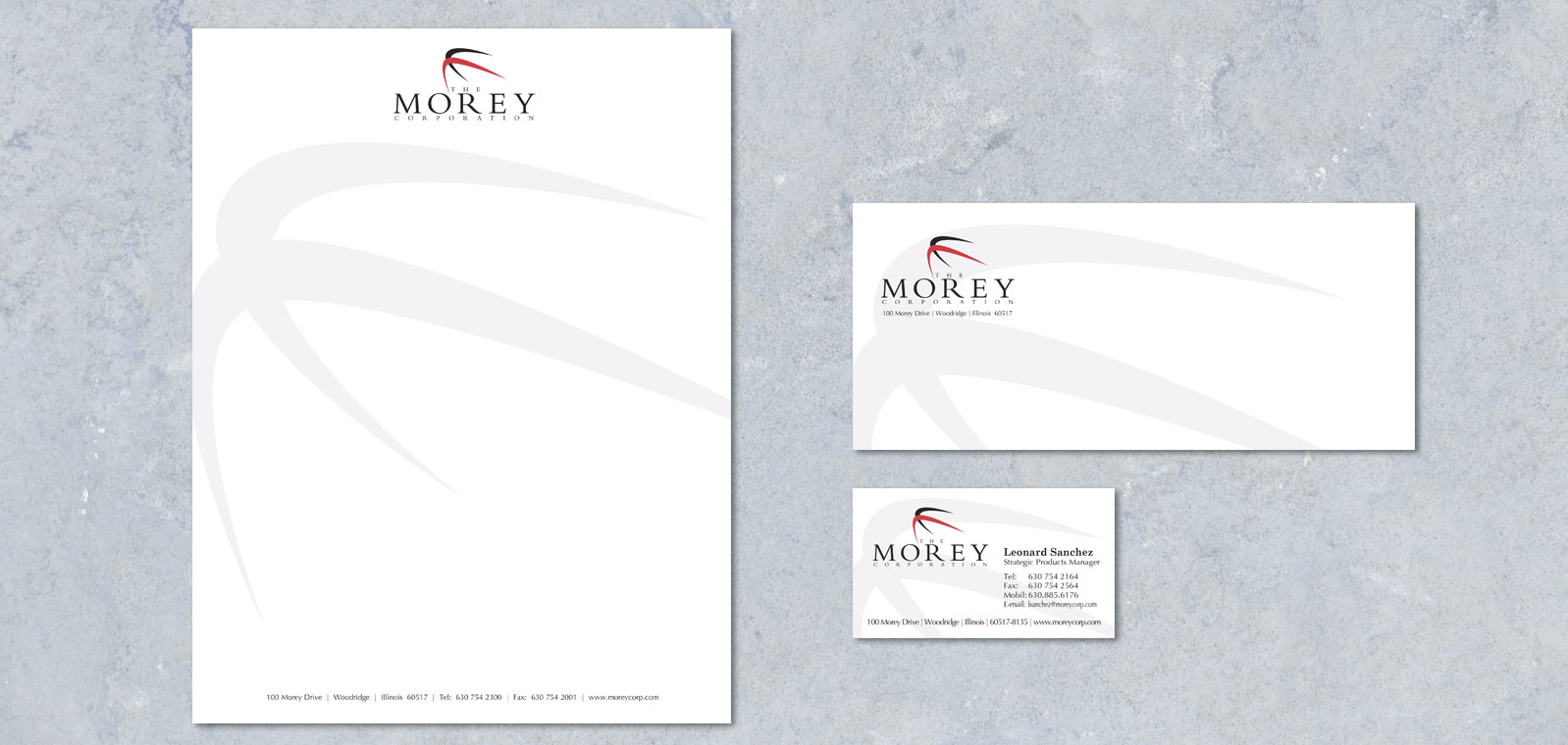 Corporate Branding Design from Roselle Branding Designer Controlled Color, Inc.