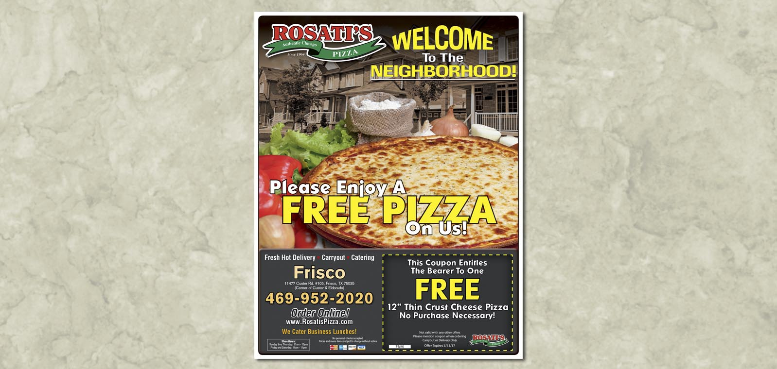 Flyer Design by Roselle Graphic Designer Controlled Color, Inc.