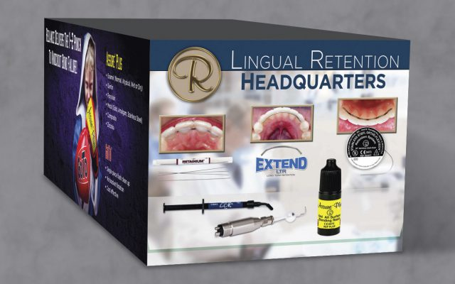 Trade Show Display Graphic Design for Reliance Orthodontics, by Roselle Graphic Designer Controlled Color, Inc.