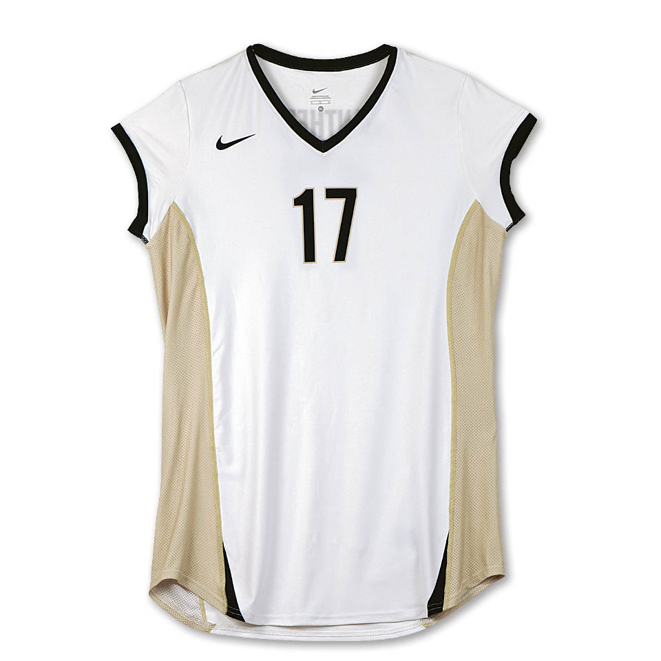 Girls Volleyball jersey, Apparel photography by Roselle Apparel photographer Controlled Color, Inc.
