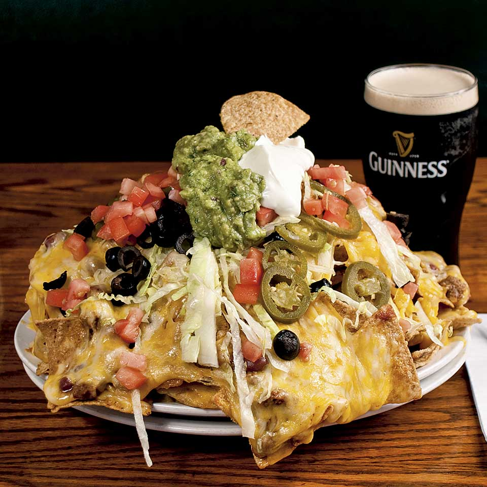 Mountain of Nachos - food photography by Roselle Food photographer Controlled Color, Inc.
