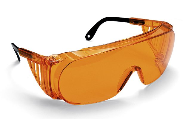 Ultra Spec UV Glasses, product photography by Roselle Product photographer Controlled Color, Inc.