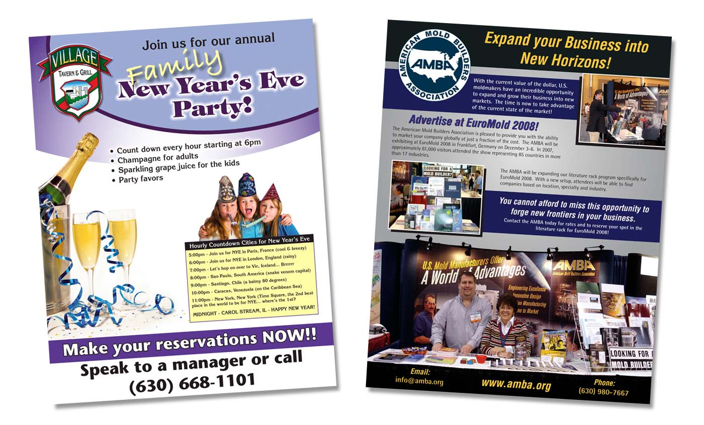 Roselle Flyer Printing from Roselle Printer Controlled Color, Inc.