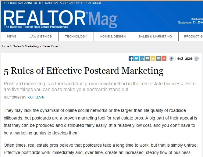Graphic that discusses how to market your business effectively, using printing services in Chicago, like Controlled Color, Inc., for high quality, affordable postcard printing.