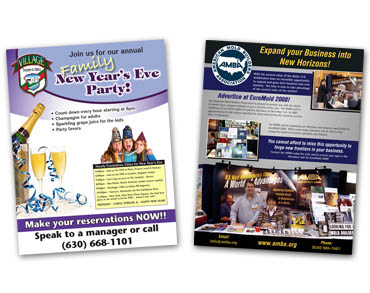 Flyer Printing - Sell Sheet printing, box topper printing, cheap flyer printing, affordable flyer printing, inexpensive flyer printing, from Flyer Printer Controlled Color, Inc.