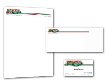 Roselle Corporate Branding Graphic Design from Roselle Graphic Designer Controlled Color, Inc.