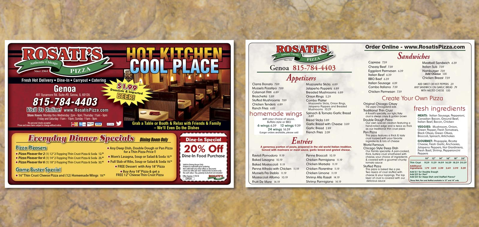 Midweek Newspaper Insert Design from Roselle Graphic Designer Controlled Color, Inc.