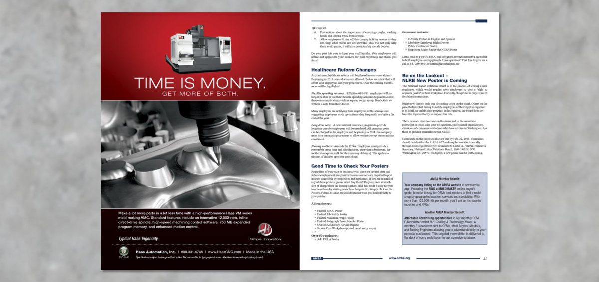 Newsletter Graphic Design by Roselle Graphic Designer Controlled Color, Inc.