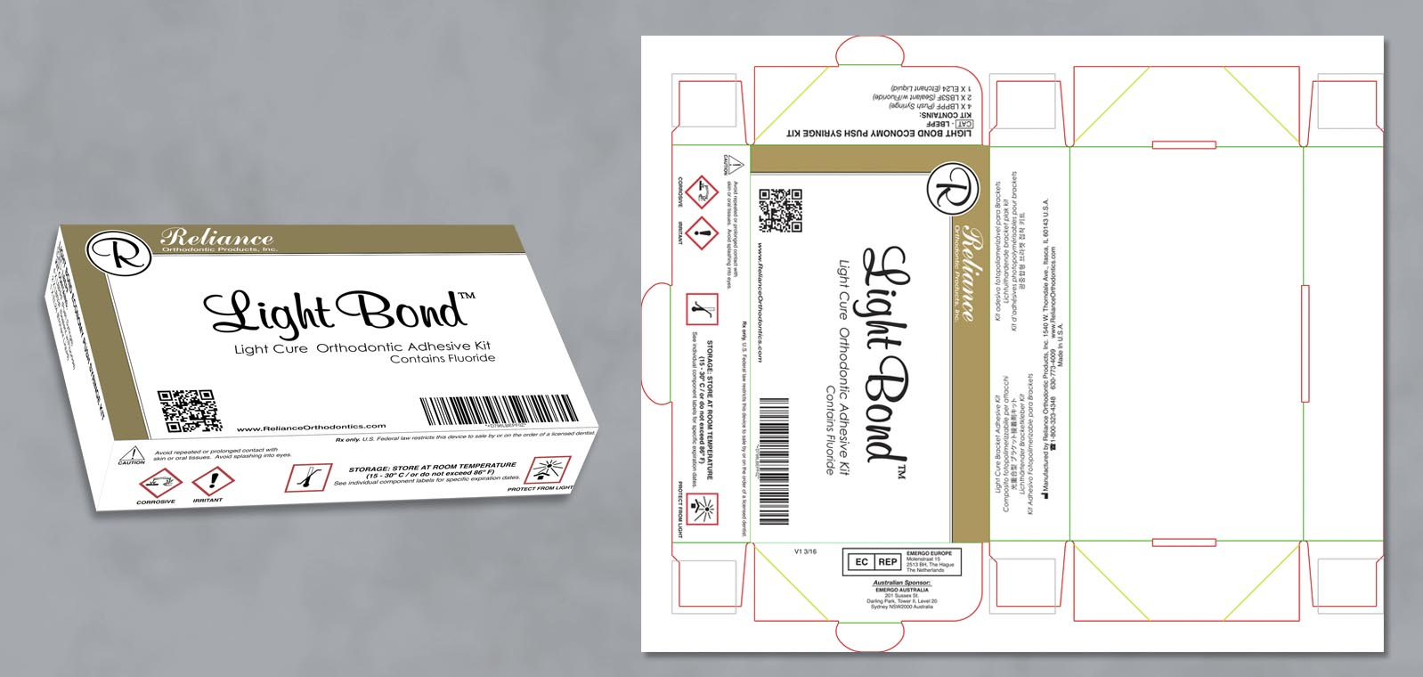 Packaging Graphic Design by Roselle Graphic Designer Controlled Color, Inc.