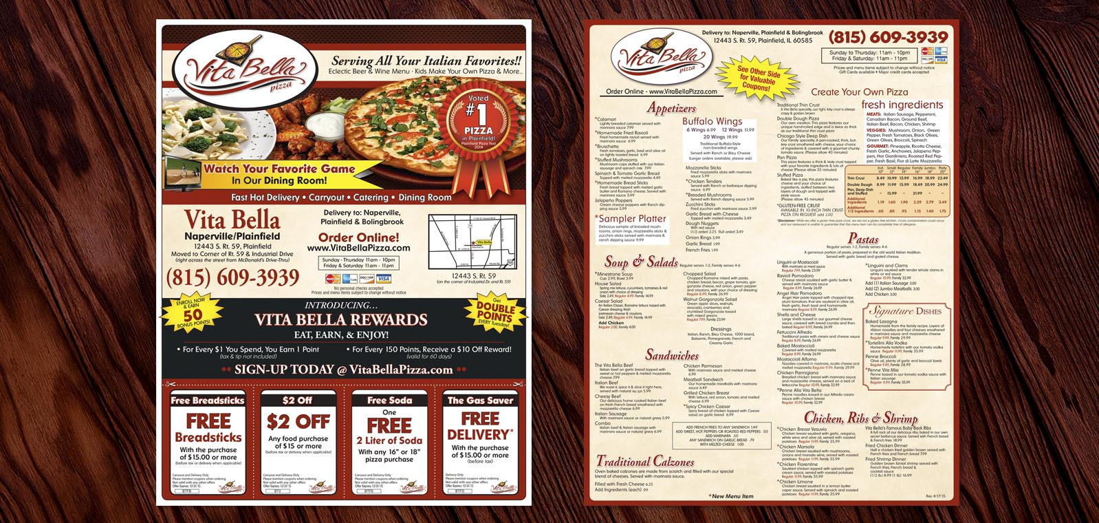 Pizza Box Topper Graphic Design by Roselle Graphic Designer Controlled Color, Inc.