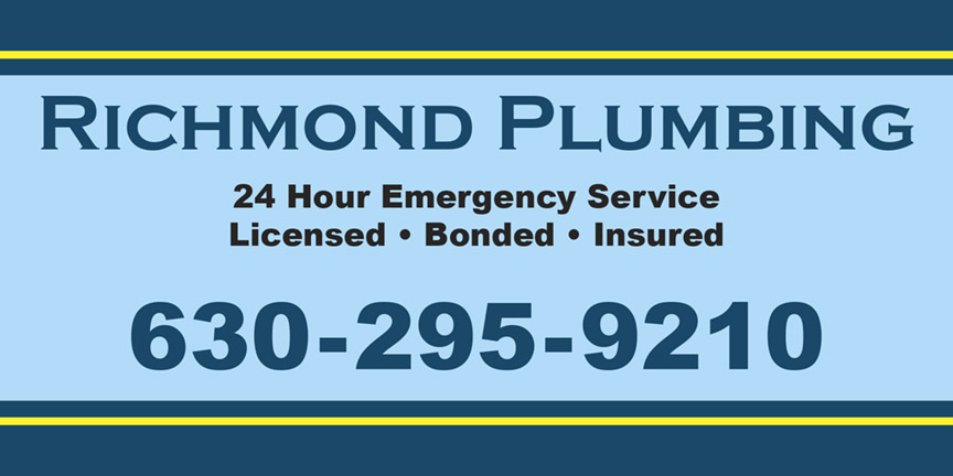 Vehicle magnet design for a plumbing service, suitable for car door magnet, vehicle door magnet, van door magnet, or truck door magnet